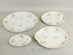 106 Pc Antique Theodore Haviland Limoges France Dinnerware China Set 12 Settings