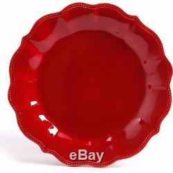 12 24 Piece Dinnerware The Pioneer Woman Red Blue Vintage Classic Plates Bowls