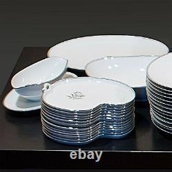 136-Piece Dinnerware Set (12-Place Settings, incl. Spares) Noritake Bessie 5788