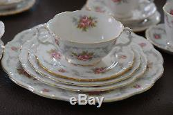 14 piece FULL SET. 6 sets AVAILABLE Royal Albert Dinnerware TRANQUILITY 1969