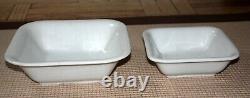 2 Vintage Original Wwii Nazi Mess Hall Porcelain Serving Bowls (1939,1942)