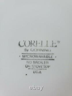20 pc Corelle by corning Black Orchid Vintage from 1990's. Dinnerware set