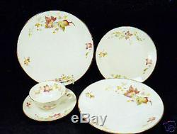 24-pcs (or Less) Of Hutschenreuther Maple Leaf Pattern #8205 China