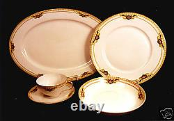 27-pieces (or Less) Royal Bayreuth Belmont-green Lined Outside Band Pat. China