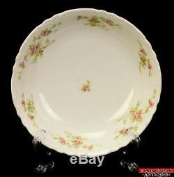32pc Habsburg China MZ Austria BT Co. Petite Pink Rose White Floral Antique L1Z