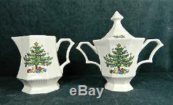 37-pcs Of Nikko Christmastime Pat #259 Fine China Microwave/dishwasher Safe