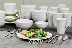 40 Piece Bone China Dinnerware Service for 8 Set Mikasa Lausanne