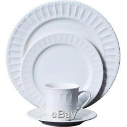 46 Piece Dinnerware Set Plates Dishes Bowls Kitchen China Serveware Gibson Home