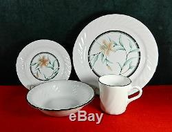 49-pcs (set For 11+) Of Corning/corelle Ware Tiger Lily Pat Dinnerware/china