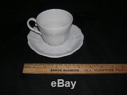 49 piece set SELTMANN WEIDEN BAVARIAN. THERESIA White Porcelain Dinnerware