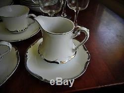51 Harmony House Fine China Starlight # 3656 Hand Painted Dinnerware Japan