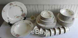 52 Pieces of Mikasa Classic Elegance Park Lane Dinnerware China Plates Cup