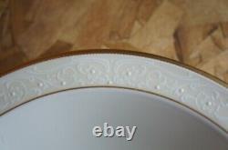55 Pc Noritake White Palace 4753 Porcelain China Dinnerware Set
