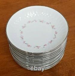 64 Pcs Noritake Fine China Cheri Dinnerware & Serving Pieces #6352