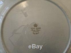 72 Pieces Stunning Royal Albert Bone China Val D'or Dinnerware White & Gold