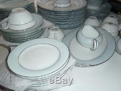 75 Piece Set c. 1954-60 Vintage Noritake China Lot BLUEDALE #5533 Dinnerware