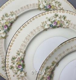 87 PIECES Vintage c1930's Hand Painted Japan Meito Arbor Porcelain China Set EXC