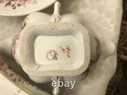 ANTIQUE Arita- Imari Fukagawa-CHINA Dinnerware SET 45 Pieces -1911-1921