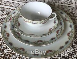 ANTIQUE- China-Dinnerware Set 1918-1945 MCPCzechoslovakia 25Pieces-Beautiful