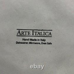ARTE ITALICA CASTELLO Plate 11 1/2 Inches Rare HTF