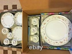 Abingdon Fine Porcelain China Dinnerware Set