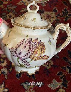 Anna Weatherley Designs Butterfly Porcelain Teapot Hand Painted Hungary
