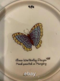 Anna Weatherley Porcelain China - Rare Hand Painted Old Master Tulips Pattern