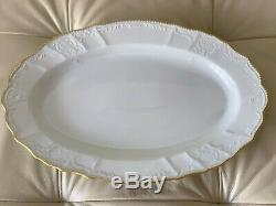 Anna Weatherley Simply Anna Gold Rim Oval Platter