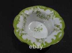 Antique/Vintage SAXE Austria Ramekin Custard Bowl Cups with Saucers Set of 10