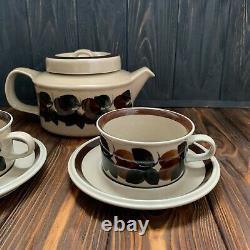 Arabia Finland Ruija teacup cup plate saucer teapot pot vintage dinnerware