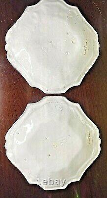 Astier De Villatte REGENCE Side Plates Set Of 2 Brand NEW
