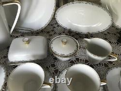 Bavaria -Waldershof Germany Huge Dinnerware Set- Classy & Elegant 70 Pieces