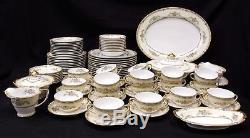 Beautiful Antique Alicia By Noritake 88 Piece Dinnerware Set Circa 1921