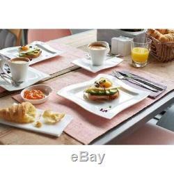 Brand New Villeroy & Boch NEW WAVE Dinnerware Set, 12-Pieces