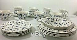 Churchill Finlandia Dinnerware Lot Blue and White