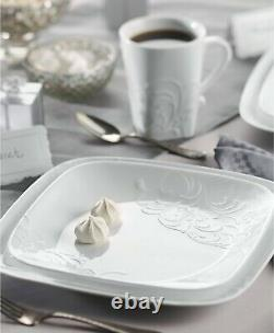 Corelle Boutique 16-Piece Dinnerware Set Cherish Square