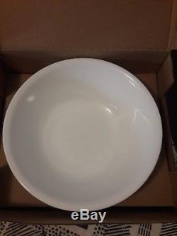 Corelle Livingware Dinnerware set Winter Frost White, Service for 12