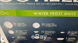 Corelle Livingware winter frost white 50-pc dinnerware Service /8+ Serve Set
