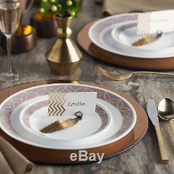 Corelle Sand Sketch Living Ware 74 Piece Dinnerware Set, Service for 12