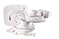 Corelle Square Splendor 32-Piece Dinnerware Set