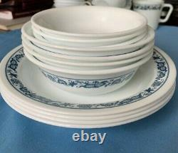 Corelle dinnerware set Old Town Blue-38 pieces-4 complete settings