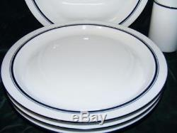Dansk Christianshavn Blue Bistro 15 Pc Dinnerware Set Plates Bowls Mugs Free Sh