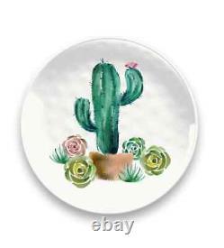 Desert Garden Collection 12 Piece Melamine Dinnerware Set by TarHong