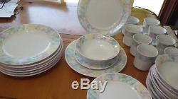Dinnerware Set Spring Time China Pearl Service for 8 New without tags Excellent