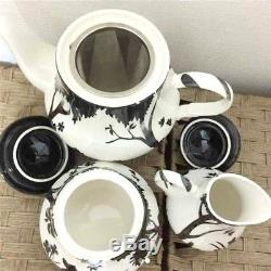 Disney Japan Snow white Seven dwarfs Tea pot & Milk pitcher & Sugar pot set Cafe