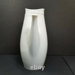 Eva Zeisel Coffee Pot Johann Haviland Mid Century Modern Sleek Design MCM