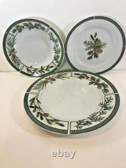 Fairfield Wintergreen Fine China 37 Piece Service Dinnerware Set for 6