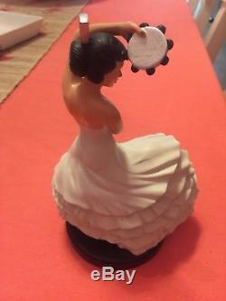 Fiesta Dinnerware, Retired White, 6 inch Dancing Lady, Fiestaware, Figurine