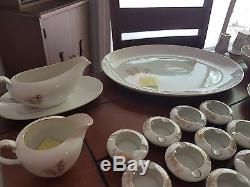 Fukagawa Arita Gold Bamboo China Dinnerware