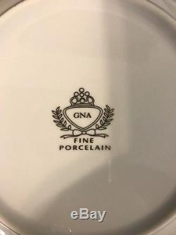 GNA12 By GNA Fine Porcelain 8 Place Settings With Service (49 piece set)